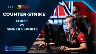 Kèo  Esports – ForZe vs Sinner Esports – COUNTER-STRIKE – 18h00 – 01/02/2021