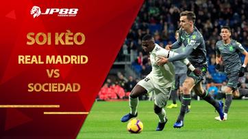 Soi kèo Real Madrid vs Sociedad lúc 03h00 ngày 2/3/2021, La Liga