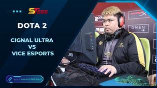 Kèo Esports – Cignal Ultra vs Vice Esports – Dota 2 – 12h00 – 04/01/2021