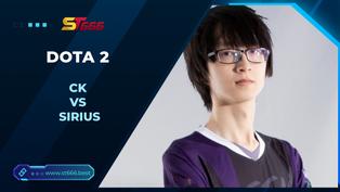Kèo Esports – CK vs Sirius – Dota 2 – 13h15 – 29/12/2020