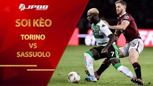 Soi kèo Torino vs Sassuolo lúc 2h45 ngày 27/2/2021, Serie A