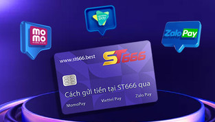 Cách gửi tiền tại ST666 qua Momo Pay, Viettel Pay và Zalo Pay