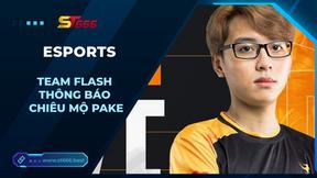 Team Flash thông báo chiêu mộ Pake, nhưng phản ứng của fan lại trái với mong đợi