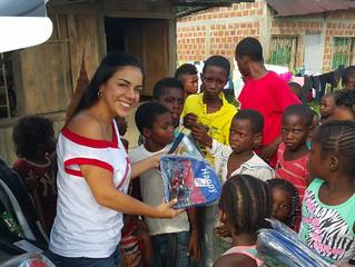 Tatiana Arias y su pasión por brindar AMOR Y SONRISAS a Cali.