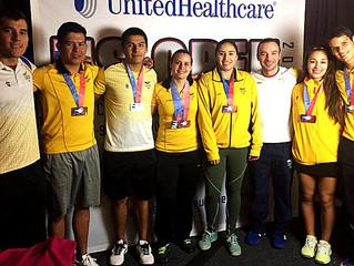 El Raquetball Colombiano fué protagonista en el UnitedHealthcare US Open Racquetball Championships