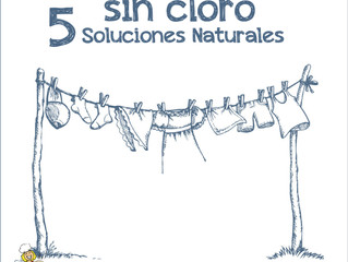 5 Ingredientes naturales para blanquear la ropa.