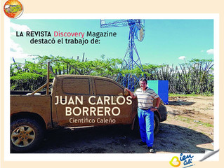 El Aerodesalinizador, el invento de un caleño que devolverá vida a la Guajira.