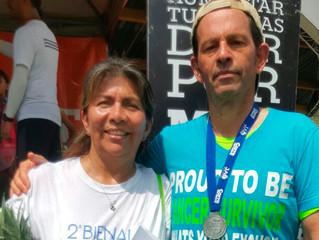 Max Stroh, el caleño que, aunque fué diagnosticado con cáncer de pelvis, corre maratones.