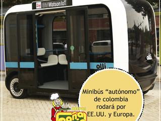 El minibús que se comunica con sus pasajeros.