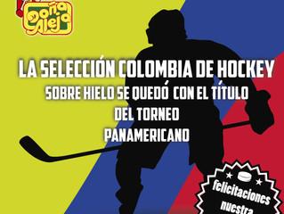 La Selección Colombiana de Hockey sobre hielo triunfó en el torneo Panamericano
