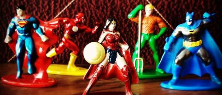 Nano Figs - Liga da Justiça