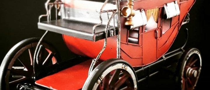 Carruagem miniatura