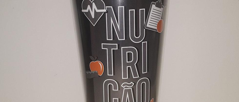 Copo com Canudo Retratil Nutrição
