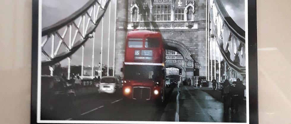 Quadro de aço Londres
