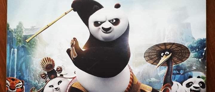 Placa Kung Fu Panda