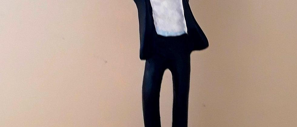 Michael Jackson Estatueta em Resina
