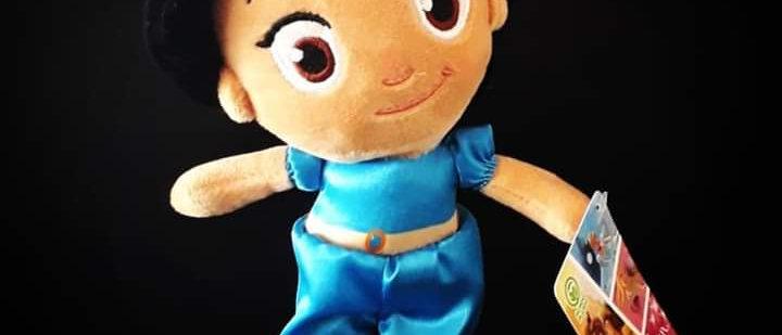 Pelúcia Princesa Jasmine