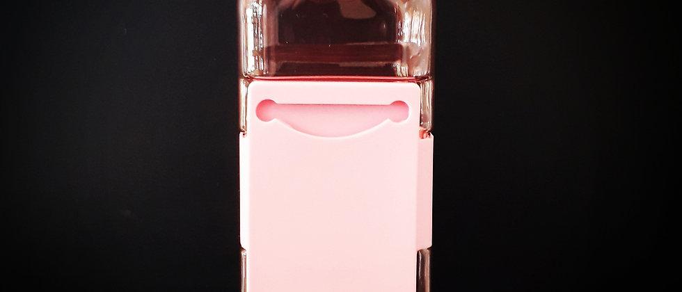 Garrafa Porta Cartão Rosa