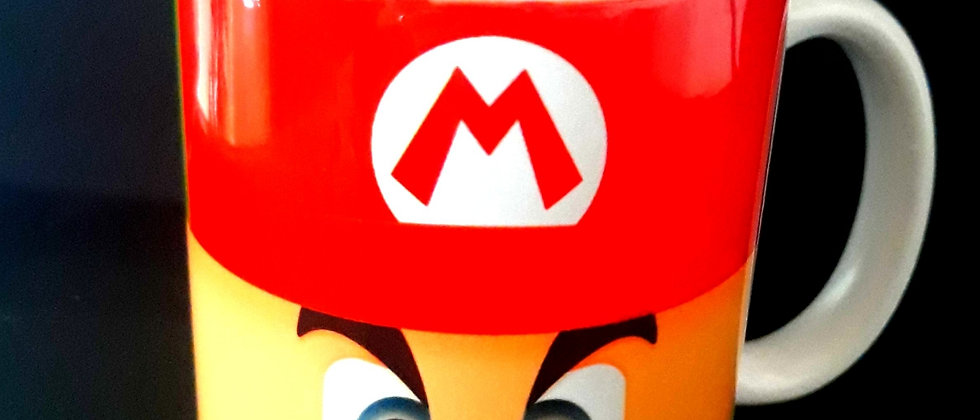 Caneca Super Mario e Lugi Jogo Nintendo