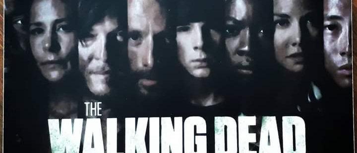 Placa The Walking Dead 12