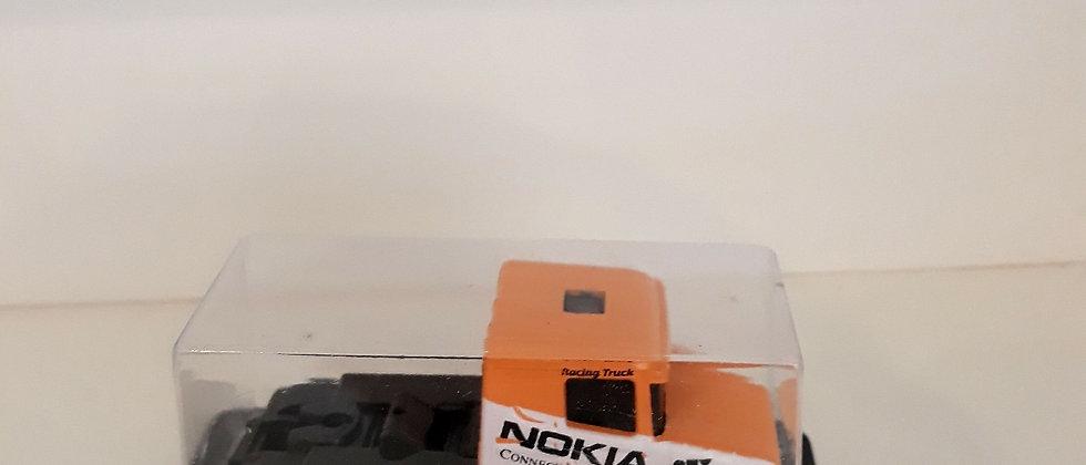Miniatura de caminhão Scania Nokia