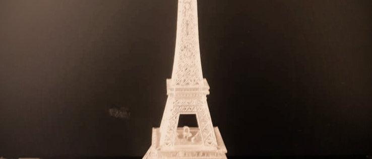 Torre Eiffel luminária