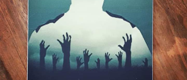 Placa - The Walking Dead