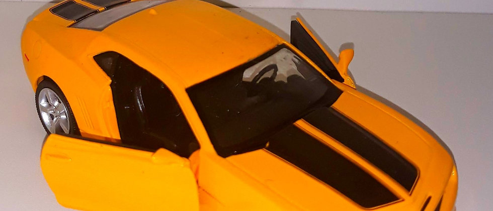 Miniatura De Camaro Amarelo