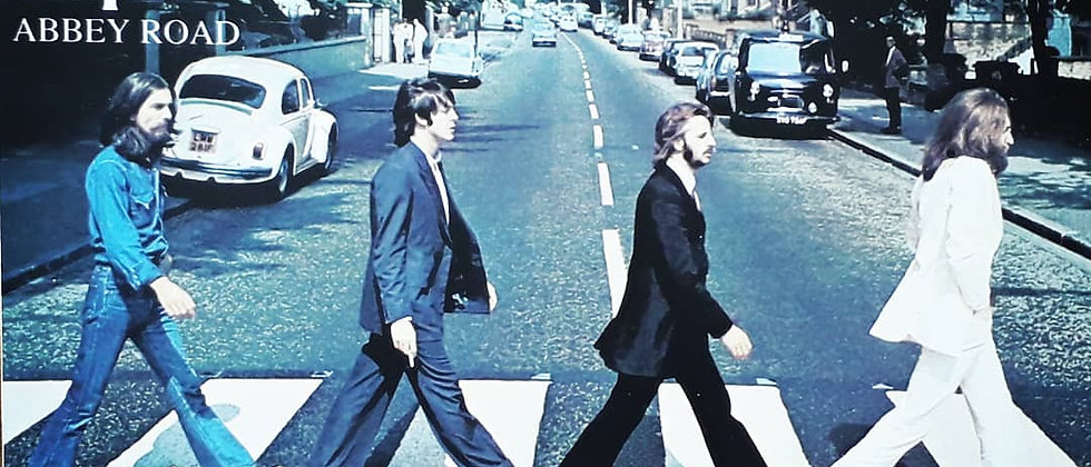 Placa The Beatles 3