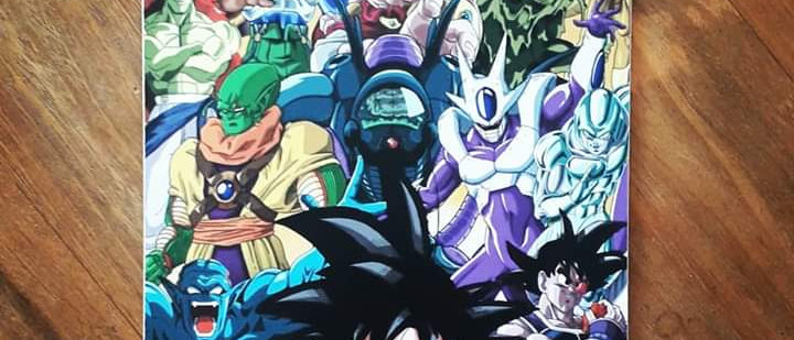 Placa Dragon Ball - Personagens