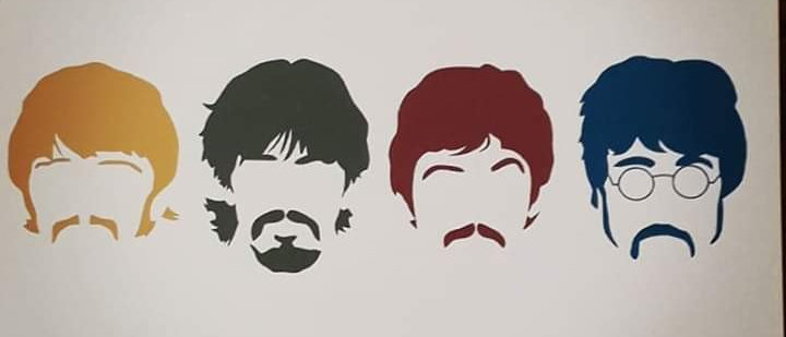 Placa The Beatles 2