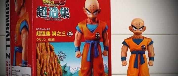 Boneco Kuririn Dragon Ball Z Super Dbz Original