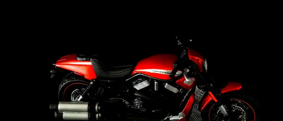 Miniatura de moto Harley Davidson