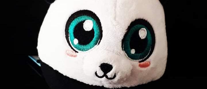 Almofada Chaveiro Pompets Panda