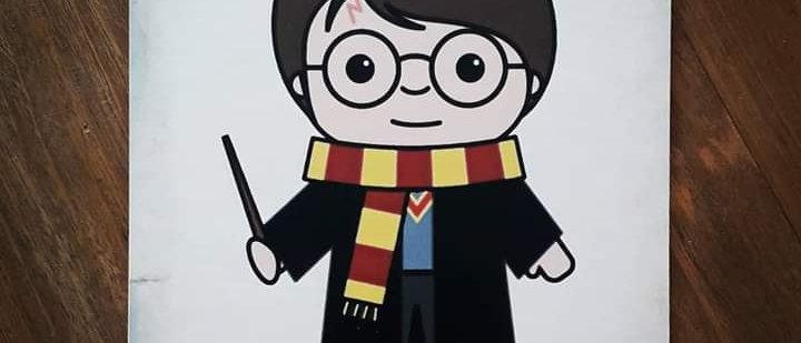 Placa Harry Potter