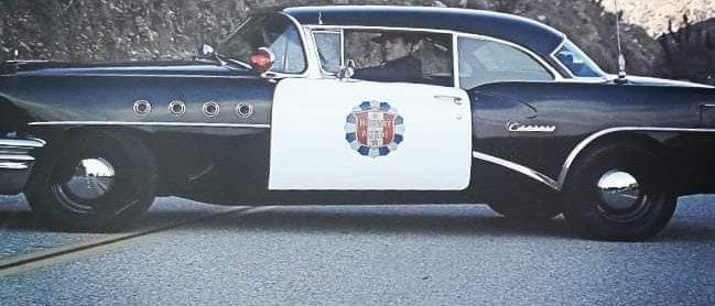 Placa Carro Policia