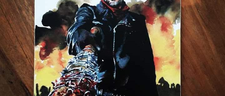 Placa Negan - The Walking Dead