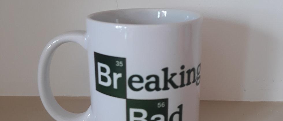 Caneca Breaking Bad Formula Química Cafeina