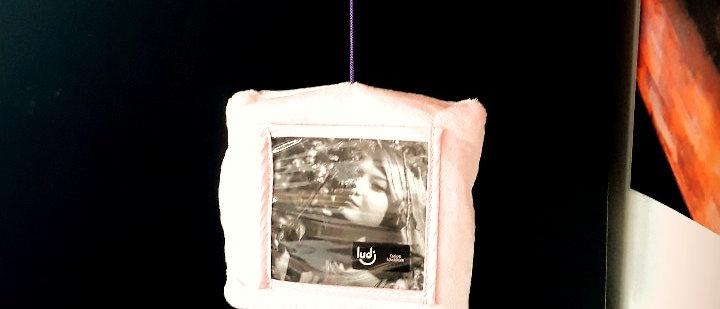 Mobile porta retrato almofadas Unicórnio