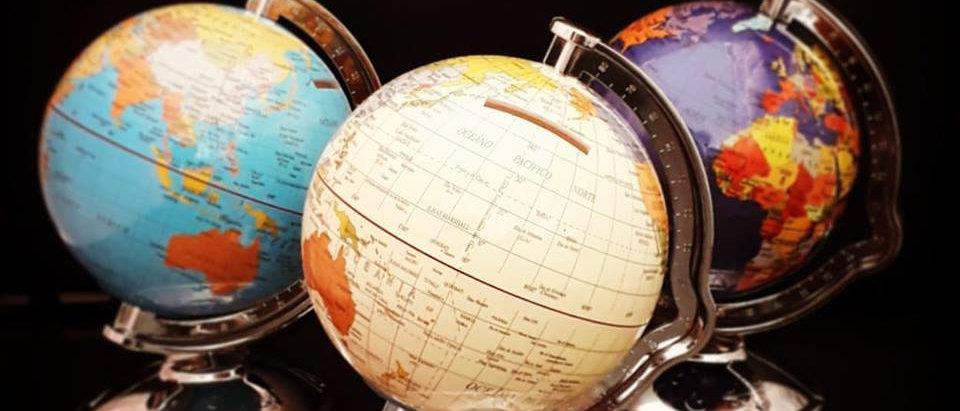 Globo terrestre - Cofre
