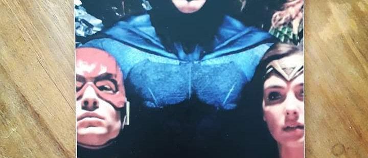 Placa Heróis Liga da Justiça