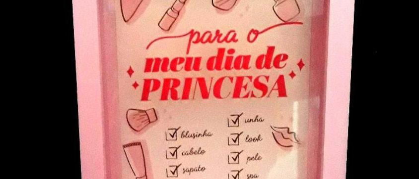 Cofre porta Retrato Dia de princesa