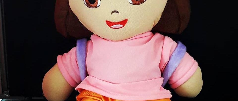 Pelúcia Dora aventureira 40 cm