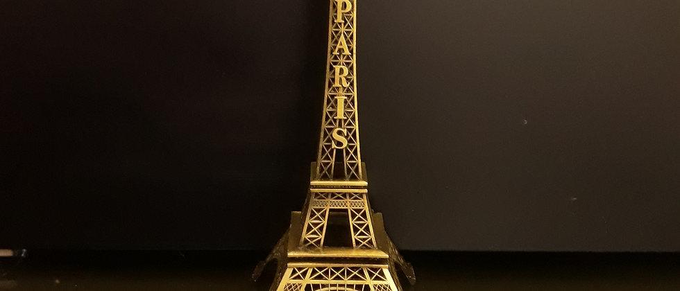 torre Eiffel de metal 17,5 cm