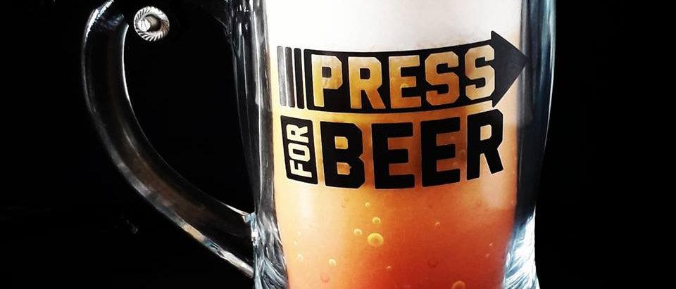 Caneco Campainha Press For Beer