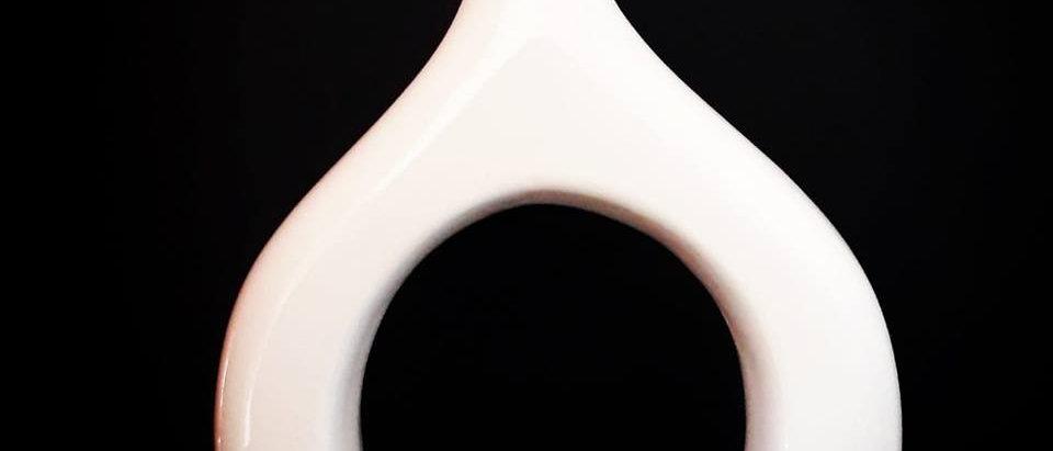 Vaso Indiano Branco