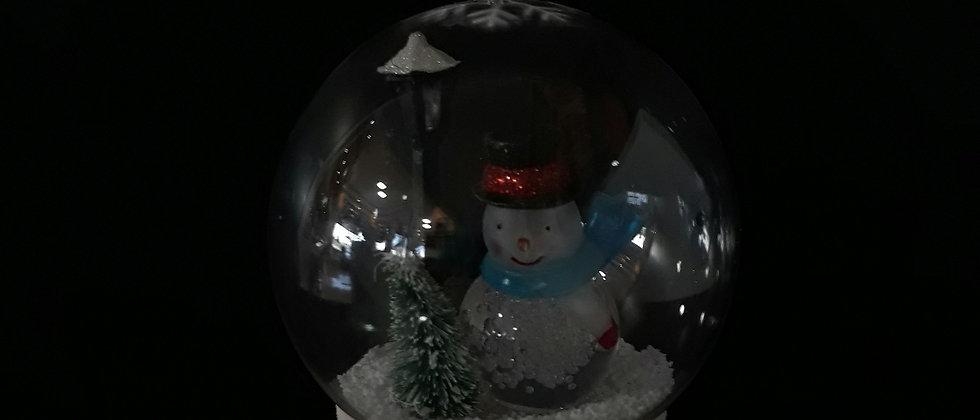 Globo de plástico boneco de neve