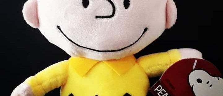 Pelúcia Charlie Brown  20 cm