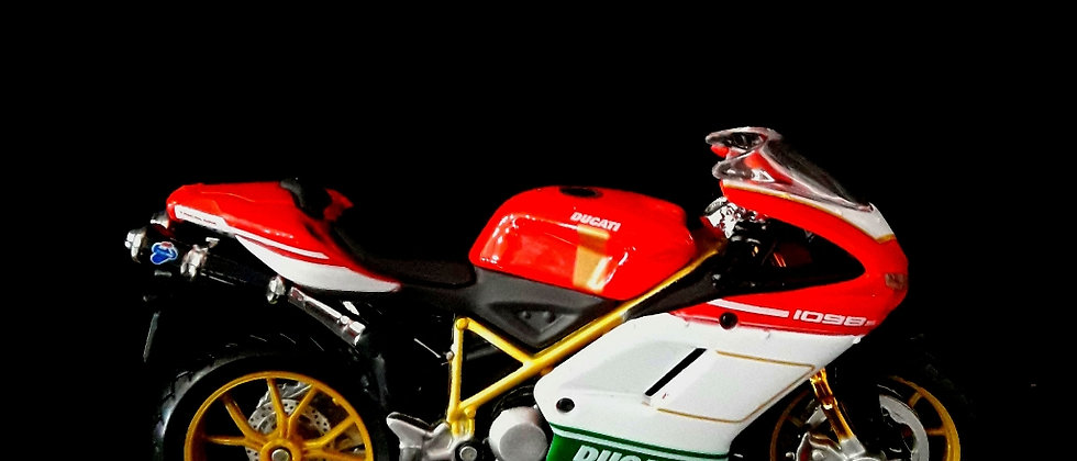 Miniatura de moto Ducati 1098s