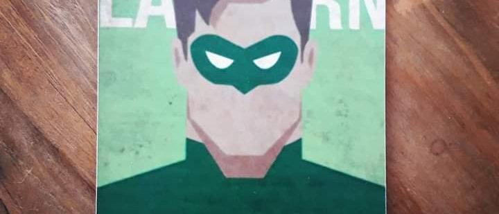Placa Lanterna Verde
